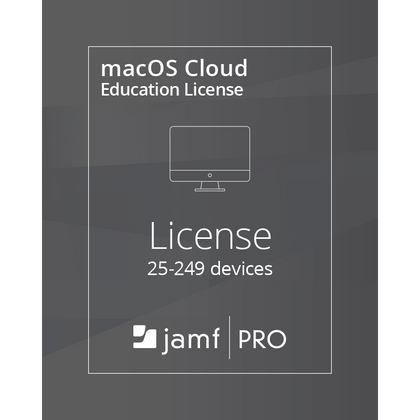 Jamf Pro macOS Cloud License (25-9999 Devices) - Education