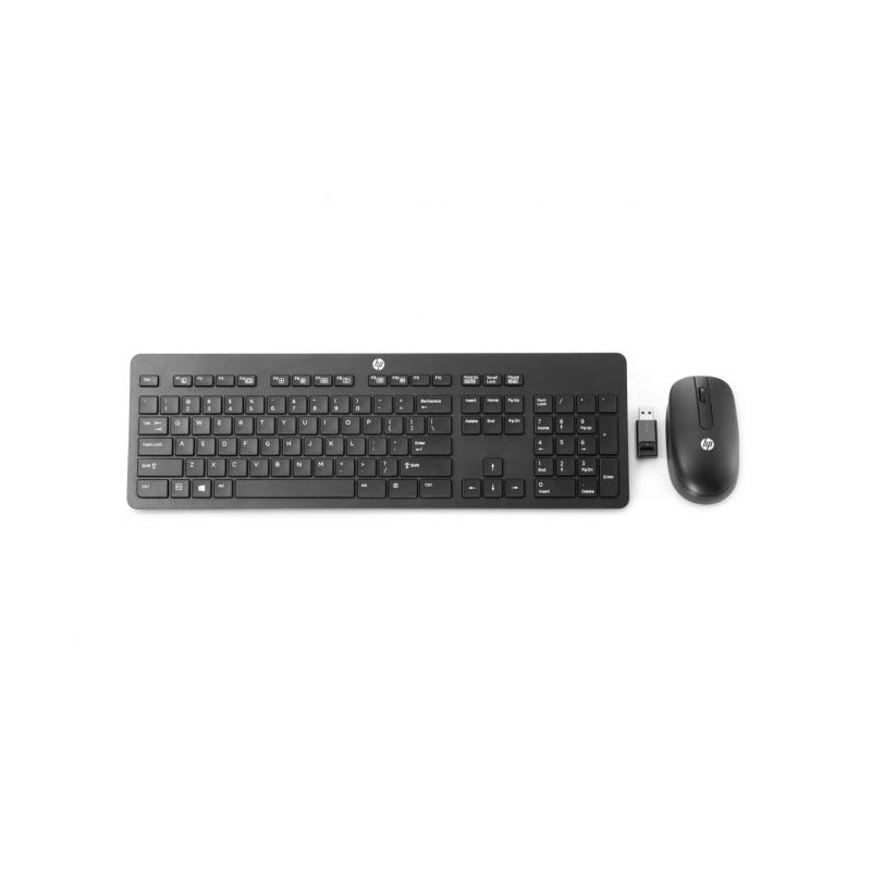 HP Slim Wireless Keyboard & Mouse with USB Adapter