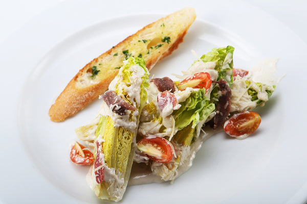 Caesar Salad with Roasted Chicken