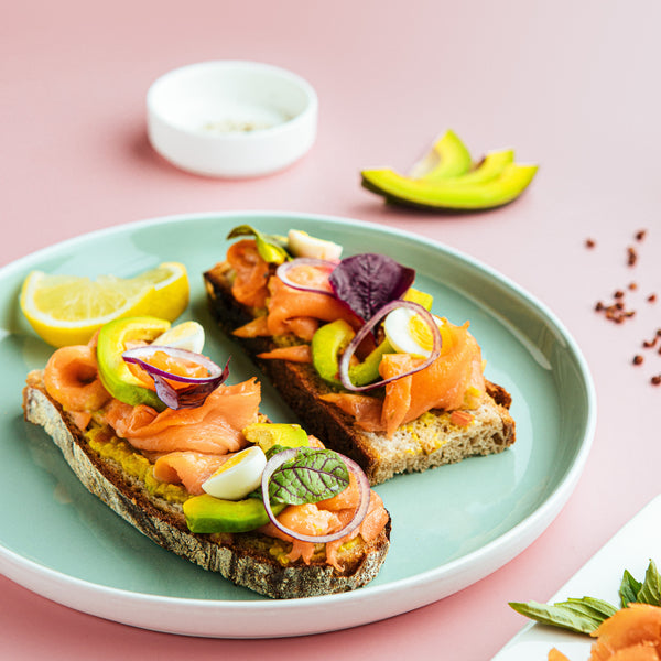 Smoked Salmon Tartine