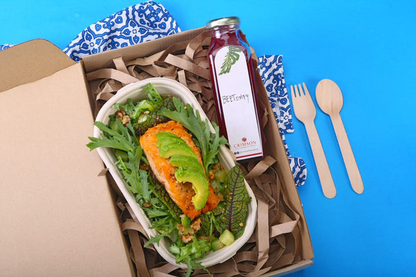 Salmon Beetroot Salad