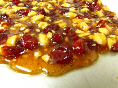 Mixed Fruit And Nut Brittle Handmade 300g