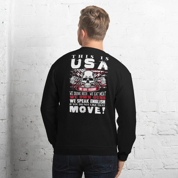 This Is USA Sweatshirt 6 Colors