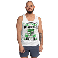 Gone Fishing My Bait Is Beer Tank Top 3 Colors