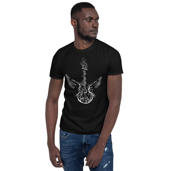 Guitar Wing T-Shirt 4 Colors