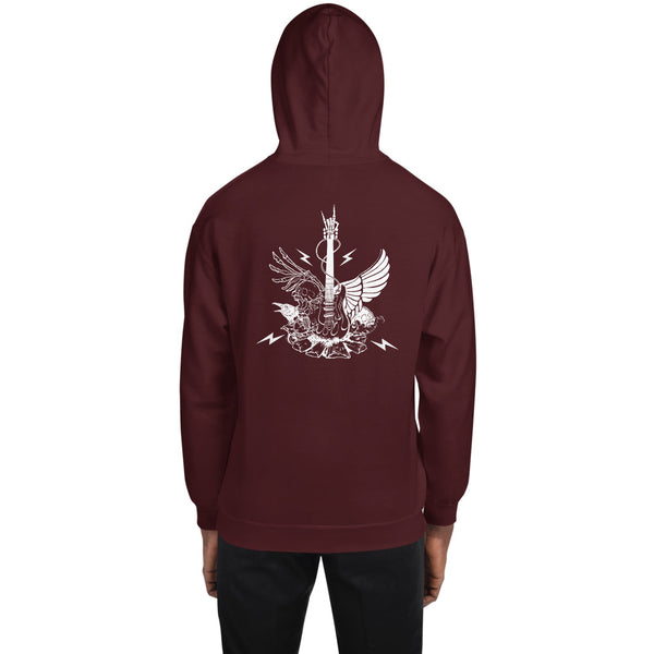 Winged Guitar Hoodie 9 Colors