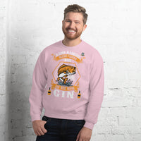 A Good Marriage Needs Fishing And Gin Sweatshirt 10 Colors