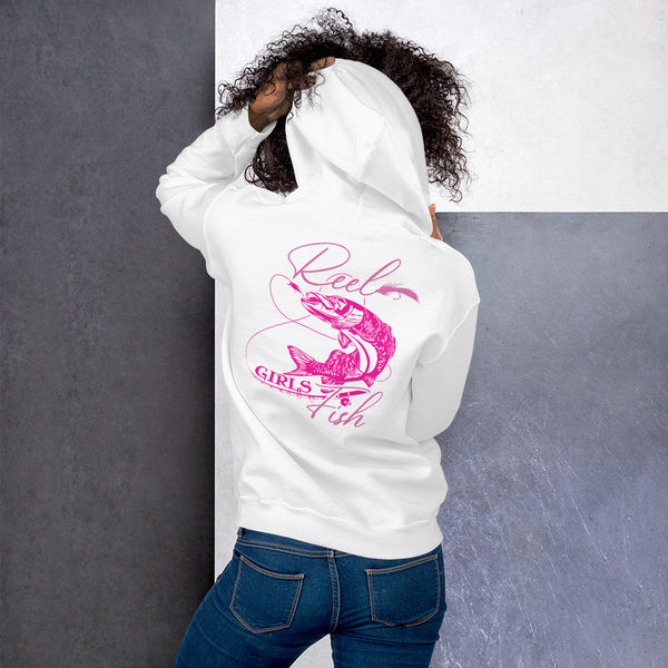 Reel Girls Fish Hoodie 11 Colors