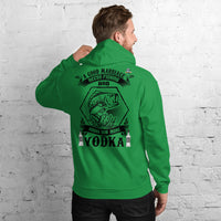 A Good Marriage Needs Fishing And Vodka Hoodie 11 Colors