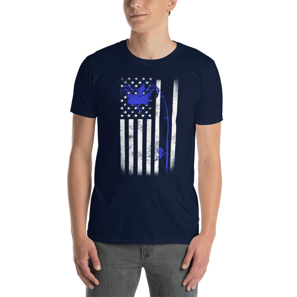Flag Fish T-Shirt 4 Colors