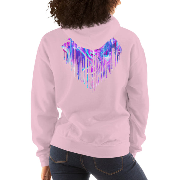Colorful Fishing Heart  Hoodie 11 Colors
