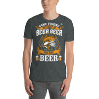 Gone Fishing My Bait Is Beer T-Shirt 5 Colors