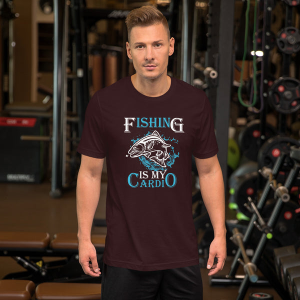 Fishing Is My Cardio T-Shirt 13 Colors
