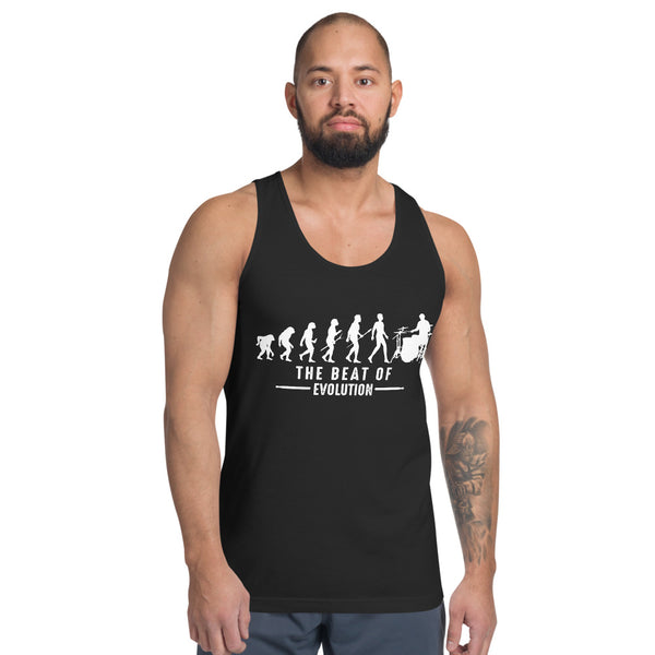 The Beat Of Evolution Tank Top 4 Colors