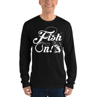 Long Sleeve Fish On T-Shirt 3 Colors