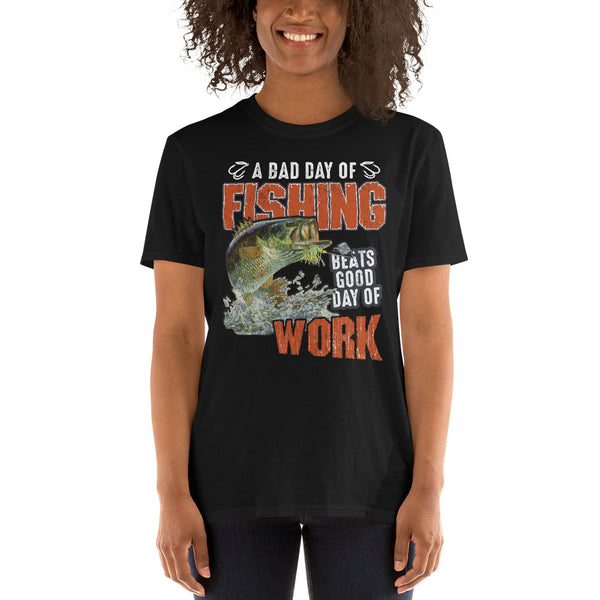 A Bad Day Of Fishing T-Shirt 3 Colors