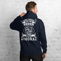 Gone Fishing My Bait Is Vodka Hoodie 11 Colors