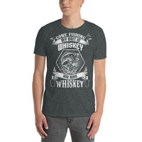 Gone Fishing My Bait Is Whiskey T-Shirt 5 Colors