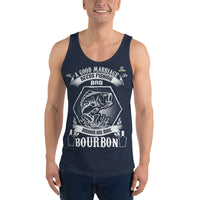 A Good Marriage Needs Fishing And Bourbon Tank Top 9 Colors