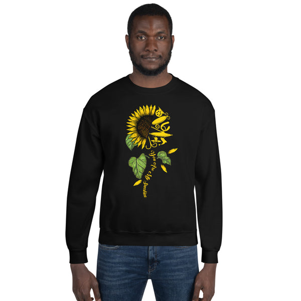 Fish Sunflower Sweatshirt 10 Colors