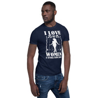 I Love One Women And Several Rods T-Shirt 4 Colors