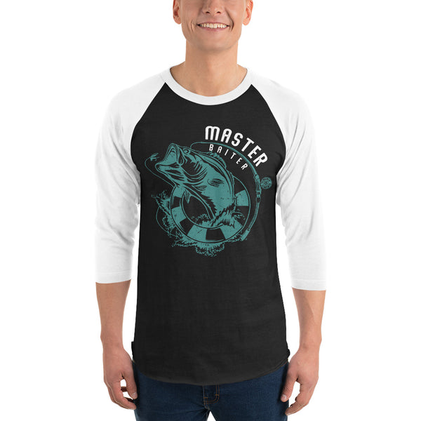 3/4 Sleeve Master Baiter Raglan Shirt 5 Colors