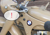 BMW R-12 (WH edition) rubber ring for frame