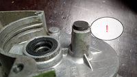 V-50 engine Kik-starter hole cup