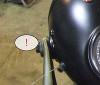 Rubber seal for headlamp holder