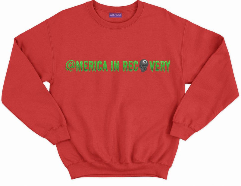 America In Recovery Crew Neck Sweatshirt