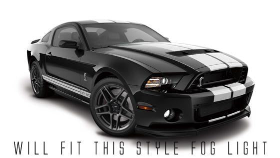 2013-2014 FORD MUSTANG SHELBY/ROUSH/GT500 ORACLE FOG LIGHT HALO KIT