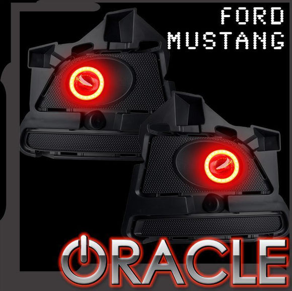 2013-2014 FORD MUSTANG V6 ORACLE LED PROJECTOR FOG HALO KIT-WATERPROOF