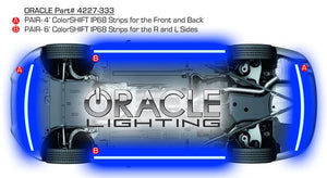 ORACLE UNIVERSAL COLORSHIFT LED UNDERBODY KIT