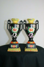 Load image into Gallery viewer, 2 Hand Painted-TT JAPANESE VASES- Made In Japan- 1900 to 1940 export Condition