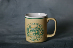 John Deere Model B Tractor Coffee Mug | Pops Flea Market