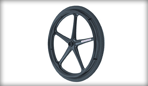 "Wheel X Core Mag 5-Spoke 24"" Black"