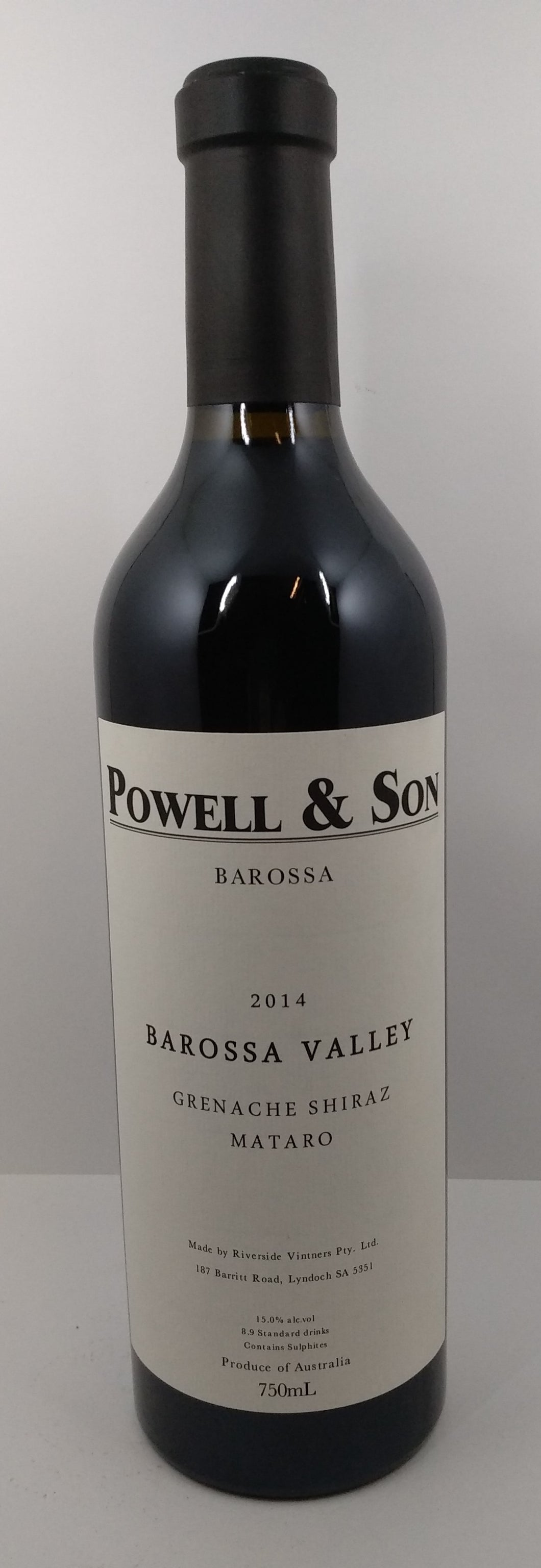Powell & Son Barossa Valley Grenache Shiraz Mataro