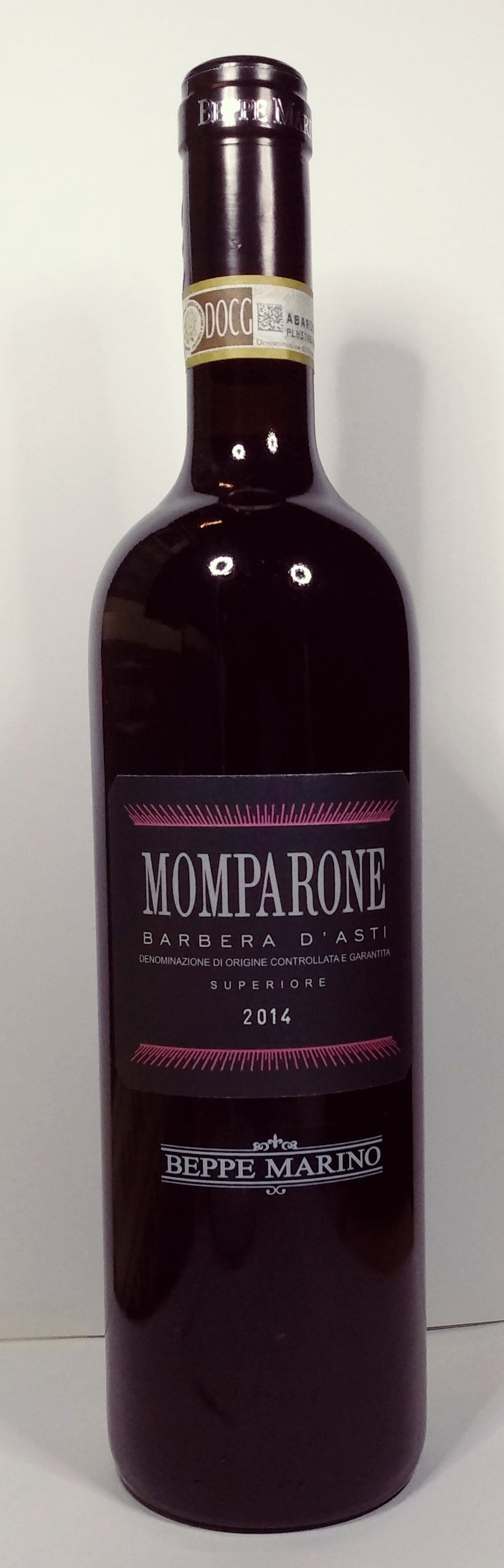 2014 Momparone Barbera d'Asti Superiore