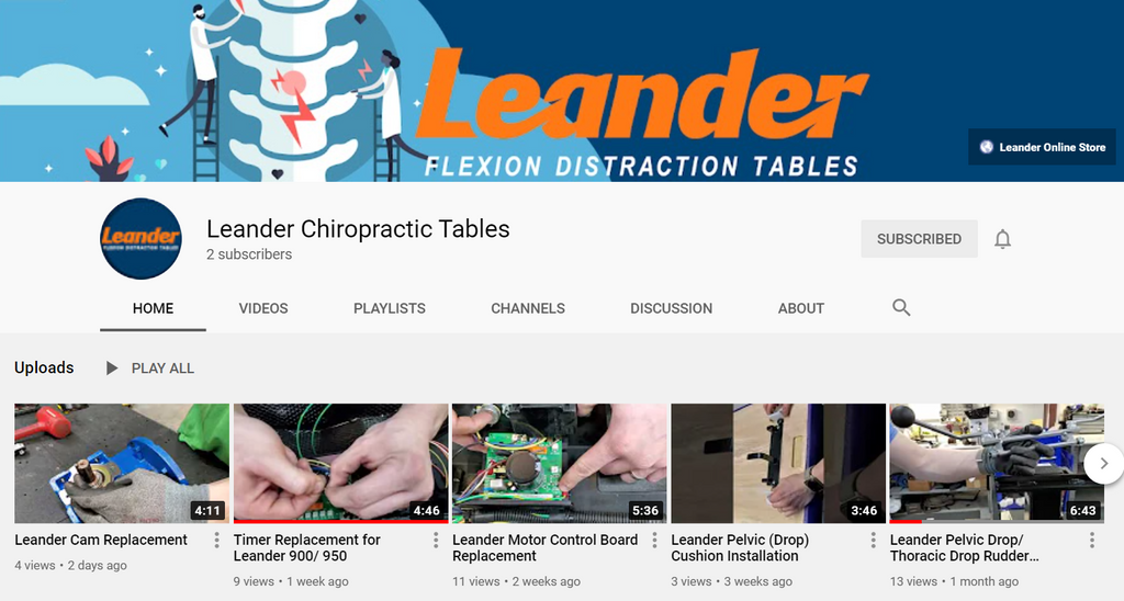 Check Out Leander's New YouTube Channel!
