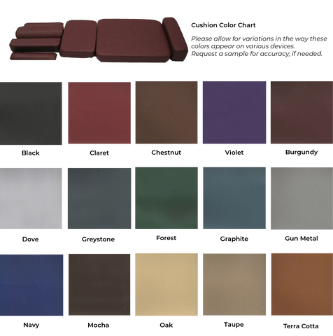 2020 color chart for cushions