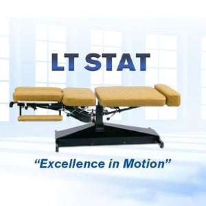 "Leander ""STAT"" Series Stationary Adjustment/Examination Table - Elevation (ADA)"
