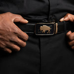Load image into Gallery viewer, The Collection Buckle Leather Belt