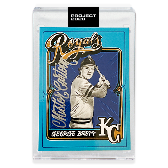 MAIL IN OPTION 3 - GEORGE BRETT - SIGNATURE EDITION ONE - SILVER - LIMITED TO 55