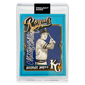 GEORGE BRETT - SIGNATURE EDITION ONE - SILVER - LIMITED TO 75