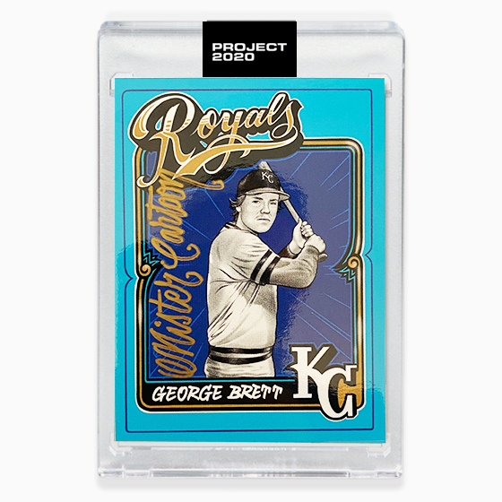 GEORGE BRETT - SIGNATURE EDITION ONE - GOLD - LIMITED TO 75