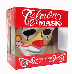 Mister Cartoon Clown Mask - HALLOWEEN SHIPPING (U.S ONLY)