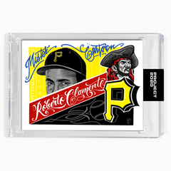 ROBERTO CLEMENTE - SIGNATURE EDITION ONE - COBALT BLUE - LIMITED TO 65