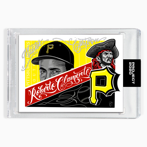 MAIL IN OPTION 1 - ROBERTO CLEMENTE - SIGNATURE EDITION ONE - SILVER - LIMITED TO 55