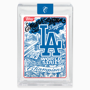 2020 LA Dodgers World Series Card - Black Autograph
