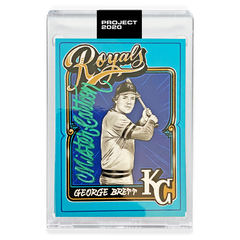 MAIL IN OPTION 1 - GEORGE BRETT - SIGNATURE EDITION ONE - GREEN - LIMITED TO 55